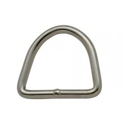 roestvrij stalen ring 6x50x47 mm