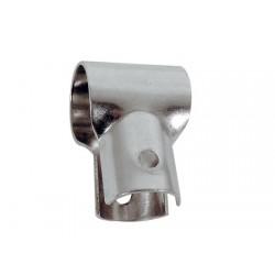 Roestvrijstalen Open T Leuning Connector 25 mm